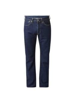 Levi's Levi's 501 high rise straight leg jeans in donkere wassing