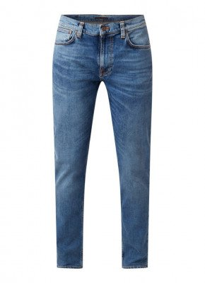 Nudie Jeans Nudie Jeans Lean Dean slim fit jeans van biologisch katoen