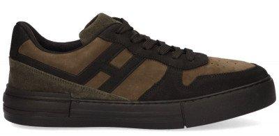 Hogan Hogan Rebel Groen/Zwart Herensneakers