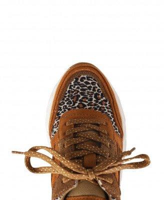 Poelman Poelman Sneaker Cognac P6469POE