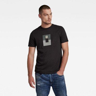 G-Star RAW Box Graw Slim T-Shirt - Zwart - Heren
