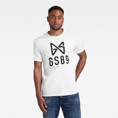 G-Star RAW Butterfly Logo T-Shirt - Wit - Heren