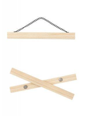 HEMA Posterklemmen A4 (hout)