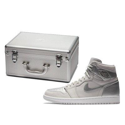 Air Jordan Air Jordan 1 Retro High CO.JP 'Metallic Silver' (Suitcase) (2020)