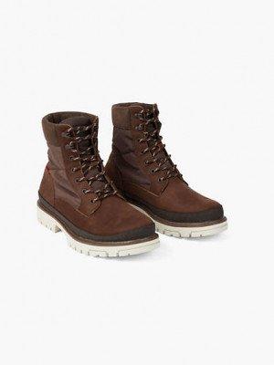 Levi's Torsten Quilted Boots - Bruin / Dark Brown
