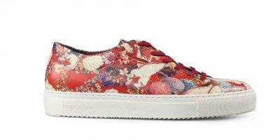 Mascolori Red Cockatoo Sneaker