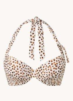CYELL Cyell Voorgevormde beugel bikinitop met stippenprint