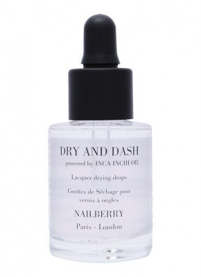Nailberry Nailberry Dry and Dash with Inca Inchi Oil - verzorgende & sneldrogende nagelolie
