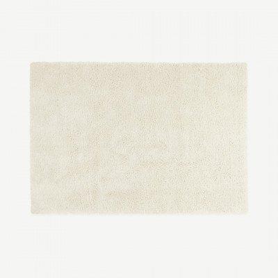 MADE.COM Mala groot vloerkleed, 200x290cm, gebroken wit