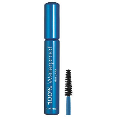 Rimmel London 001 - Black 100% Waterproof Mascara 8 ml