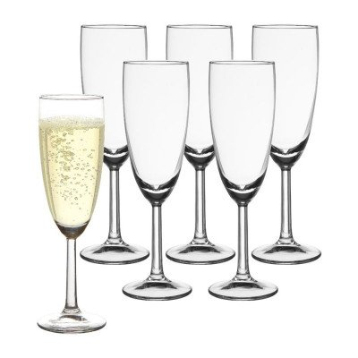 Royal Leerdam Champagneglas - 16 cl - set van 6