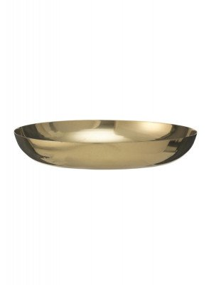 HEMA Kaarsonderzetter - Ø 12 Cm - Goud (goud)
