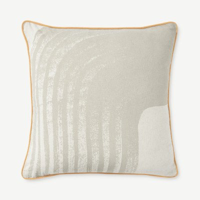 MADE.COM Maali Linen Blend Cushion 55 x 55cm