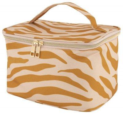 HEMA HEMA Beautycase 17x24x16 Zebra