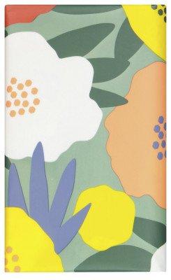 HEMA HEMA Tafelzeil 240x140 Polyester Bloemen