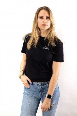 ohdeer NL Classic Logo T-Shirt | Deep Black