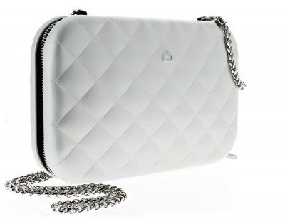 Ogon Designs Ogon Clutch Quilted Lady Bag Silver