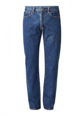 Levi's Levi's 501 high rise straight fit jeans met stonewash