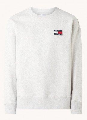 Tommy Hilfiger Tommy Hilfiger Sweater van biologisch katoen met logo