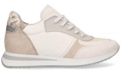 VIA VAI VIA VAI Nora Seek Beige Damessneakers