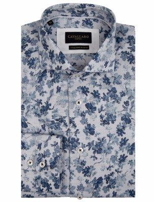 Cavallaro Napoli Cavallaro Napoli Heren Overhemd - Tanio Overhemd - Blauw