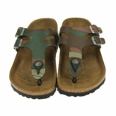 Birkenstock Milos met camouflageprint sandals