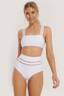NA-KD Swimwear NA-KD Swimwear Bikinibroek - White