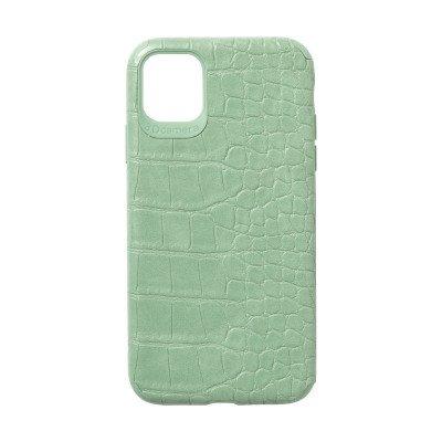 Xenos Telefoonhoes croco voor Iphone XR/11 - groen