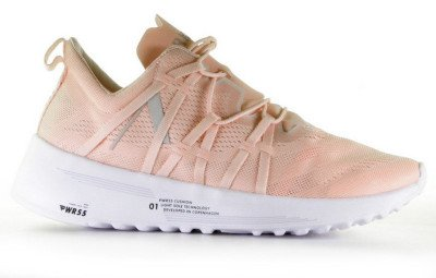 ARKK ARKK Velcalite CM PWR55 Lichtroze Damessneakers