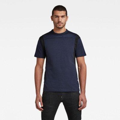 G-Star RAW Moto Mesh Motac T-Shirt - Donkerblauw - Heren