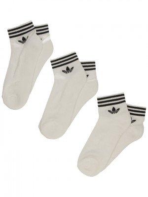 adidas Originals adidas Originals Trefoil Ankle Socks wit