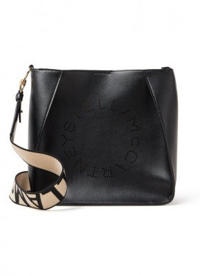 Stella Mccartney Stella McCartney Stella Logo Mini crossbodytas van ecoleer