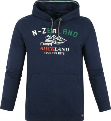 new zealand auckland NZA Wisely Hoodie Donkerblauw