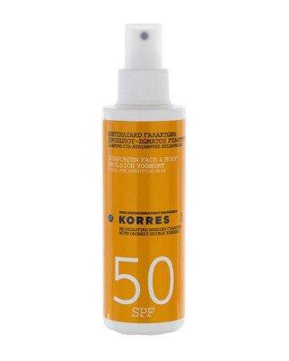 Korres Korres - Sun Spray Yoghurt SPF50 - 150 ml