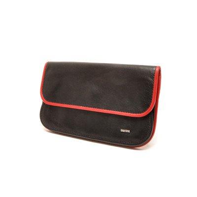 Berba Berba Dames Portemonnee Soft 001-056 Black Red