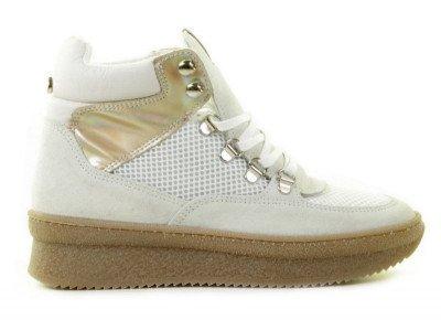 Steve Madden Steve Madden Pandorra Off-White Damessneakers