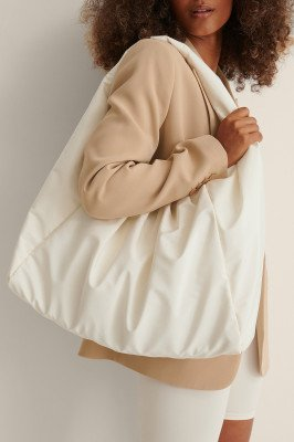 Curated Styles Curated Styles Wind Jack Tas - Offwhite