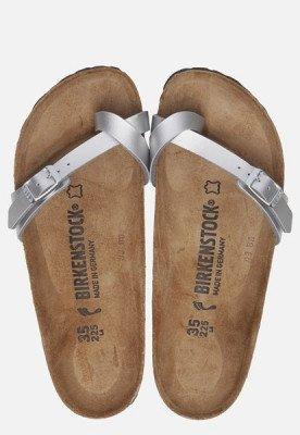 Birkenstock Birkenstock Piazza slippers zilver