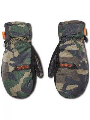 Thirtytwo ThirtyTwo Corp Mittens camouflage