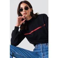 NA-KD J'adore Sweater - Black