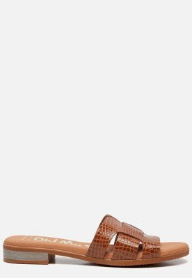 OH MY SANDALS OH MY SANDALS Slippers cognac
