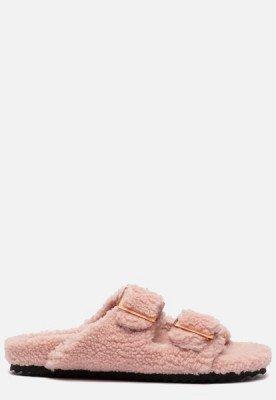 Colors of California Colors of California Furry Bio pantoffels roze