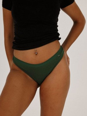 Moja Thong 3-pack L Green