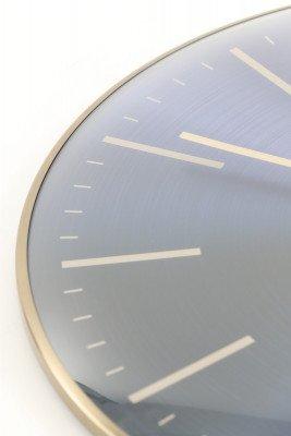 Light en Living Light & Living Klok 'Peria' Ø65cm, kleur Marineblauw