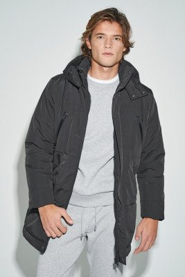 nu-in 100% Recycled Puffer Parka Jacket