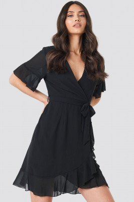 Sisters Point Sisters Point Greto Dress - Black