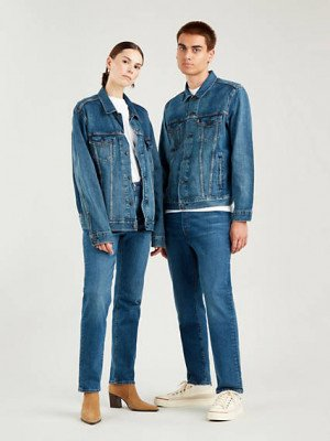 Levi's 501® Levi's® Crop Jeans - Blauw / Charleston Outlasted