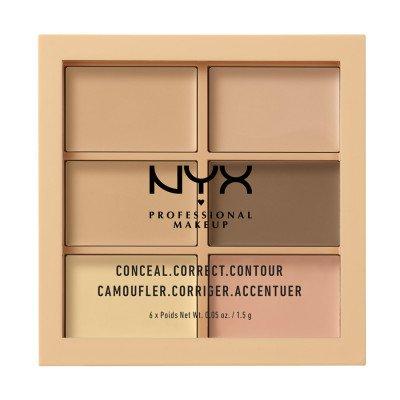 NYX Professional Makeup NYX Professional Makeup Light Concealer Correct Contour Palette Contouring 1.5 g