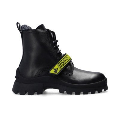 Dsquared2 Branded hiking boots
