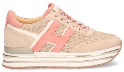 Hogan Hogan Midi H222 Roze Damessneakers